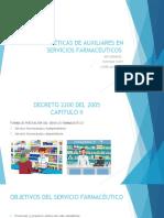 ACTITUDES ÉTICAS DE AUXILIARES EN SERVICIOS FARMACEUTICOS