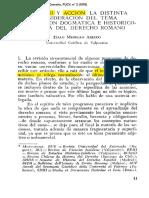 Merello Acción en El Derecho Romano