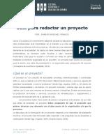 Redactar-proyectos