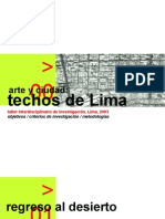 Lima Techos 2003 PPT