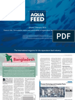 Formulation, status and sustainability of aquaculture feed industries in Bangladesh