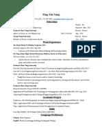 inyo resume
