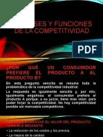 LAS BASES Y LAS FUNCIONES DE LA  COMPETITIVIDAD