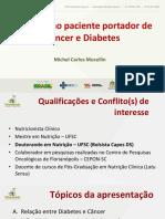 Slides - Nutrição No Paciente Portador de Câcer e Diabetes