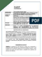 Denuncia Contra Alcaldía y secretario de Gobierno de Santa Marta