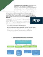 La segmentación de mercados. Doc 2