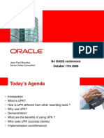 Oracle UPK Demo 101708