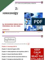 CHE135_Ch2 Toxicity_MII_L2.1_Sept 2017 (2)