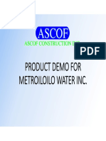 ASCOF PRODUCT DEMO FOR METROILOILO WATER INC 20200416