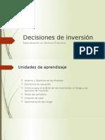 Desiciones de inversión Und 2 - Valuacion.pptx