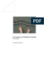 Conceptions of Political Freedom - Fahad Bombaywala