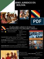 Pluralismo Juridico en Bolivia.