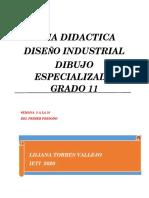 GUIA DIDACTICA DIBUJO ESPECIALIZADO GRADO 11