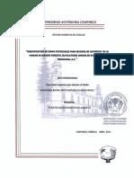 Identificación de Zonas Potenciales para Recarga de Acuíferos en la UMAFOR 3