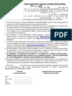 ACTA DE ENTREGACORREO INSTITUCIONAL