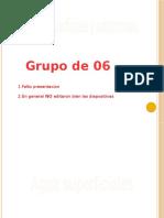Agua superficiales hidrologia 2do P. grupo6
