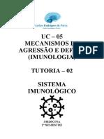 Tutoria UC5 - Aula 02 (Imunologia)