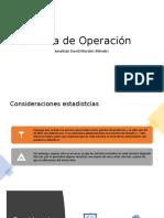 Curva de Operación y Muetro de ACeptacion Con Variables
