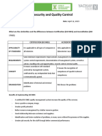 Biosecurity and Quality Control HW 2