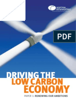 Driving the Low Carbon Economy - Policy Paper 1