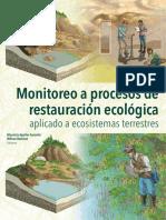 Monitoreo a procesos de restauración ecológica aplicado a ecosistemas terrestres
