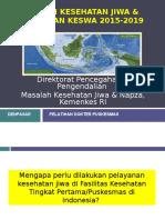 (1). Situasi Keswa & Kebijakan Keswa 2015-2019