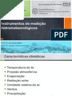 Aula 5 - Instrumentos Hidrometeorológicos