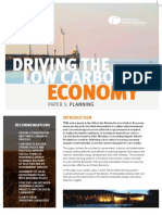 Driving the Low Carbon Economy - Policy Paper 5