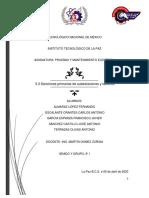3.3 Secciones primarias de subestaciones y tableros