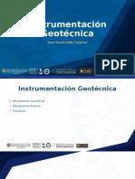 Instrumentacion geotecnica