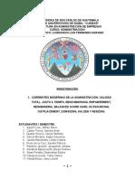 CORRIENTES MODERNAS DE LA ADMINISTRACIÓN1 sin resumenes