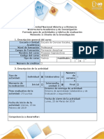 1- Guía de Actividades y Rúbrica de Evaluación-Momento 2- Diseño de Investigación