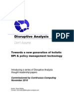 Mobile Policy Management White Paper Series Intro