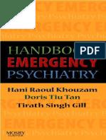 Handbook of Emergency Psychiatry    2007