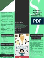 RIESGO PSICOSOCIAL Y CONSUMO DE SUSTANCIAS PSICOACTIVAS