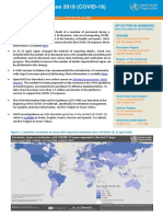 WHO report on COVID-19 - April 22, 2020