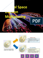 Optical Space Division Multiplexing