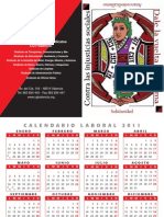Calendario bolsillo 2011