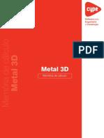 Metal 3D Memoria de Calculo
