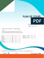Plan de cours FIA109-3