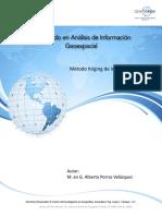 16-Método Kriging de Inferencia espacial -  Diplomado en Análisis de Información Geoespacial.pdf