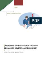 GAD-LC-PT-01 PROTOCOLO DE TRANSFUSIONES