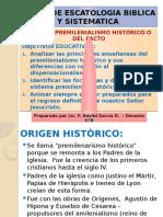 Apo - Tema - 5 - Premilenialismo Historico