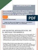 APO - TEMA 2 - Literatura Apocaliptica