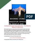 FREE - Invoking the Ancestor Divine Spirits - Pitr Devta.pdf