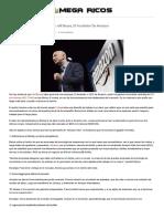 Cinco Consejos De Negocios De Jeff Bezos, El Fundador De Amazon _ MEGA RICOS