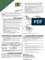 Manual Cargador de Pilas Powerex MH-C204W