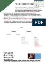 4. Distribuciones probabilisticas
