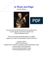 Guitar Blues and Rags