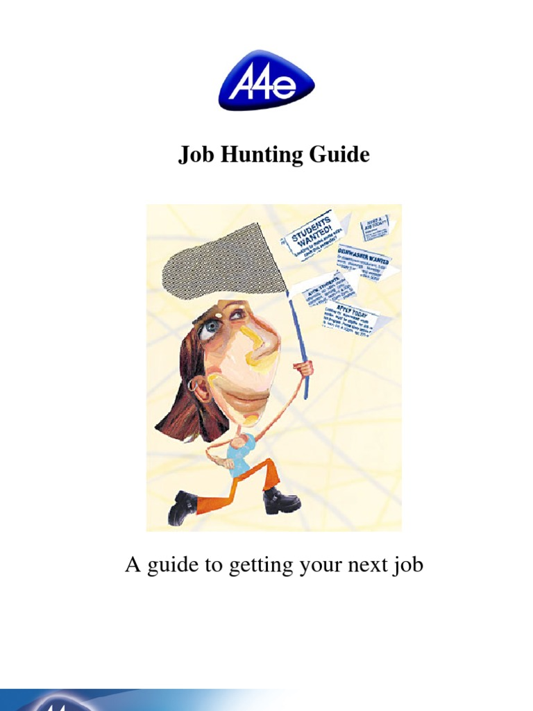 a4e job hunting guide
